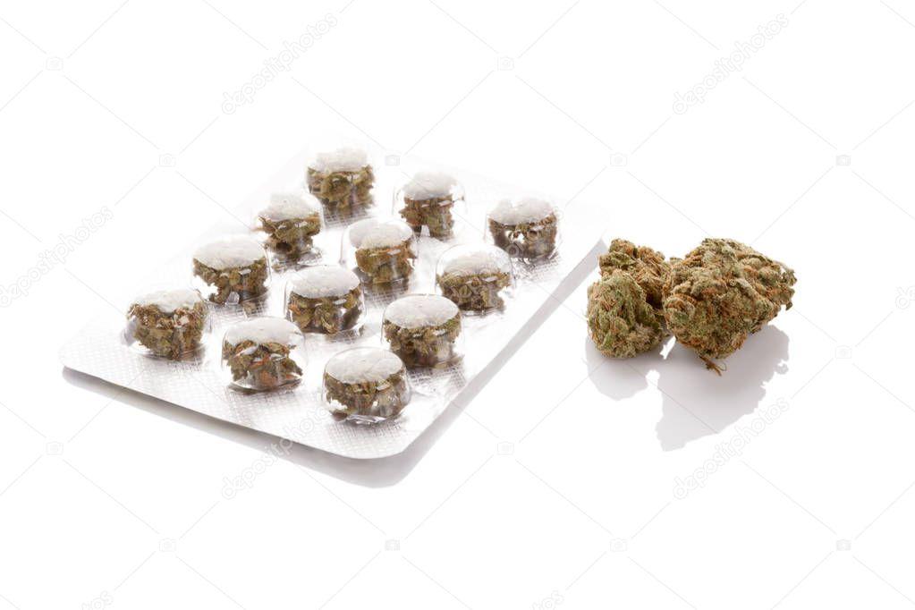Medical Marijuana concept.