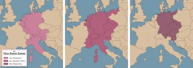 Holy Roman Empire Map Foundation Dissolution