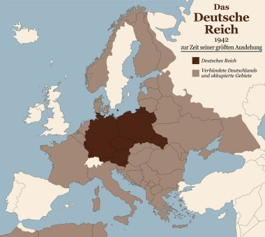 Third Reich Nazi Germany Greatest Extent German Text