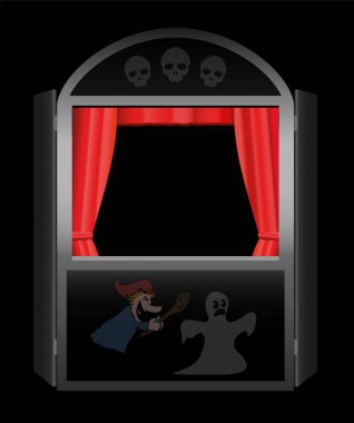 Creepy Story Punch And Judy Show