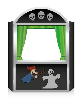 Punch And Judy Show Scary Horror Show