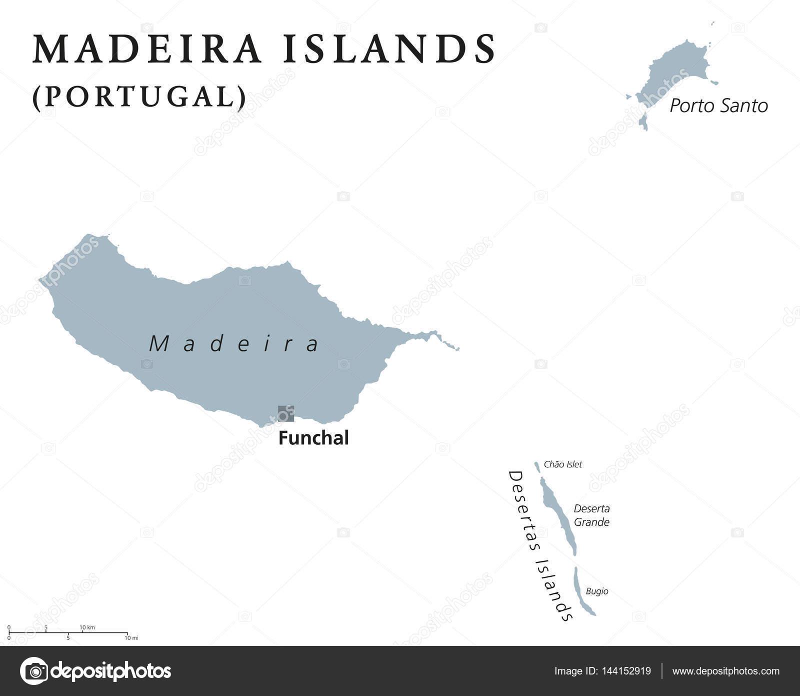 arquipélago da madeira mapa Mapa político do arquipélago da madeira — Vetor de Stock © Furian  arquipélago da madeira mapa