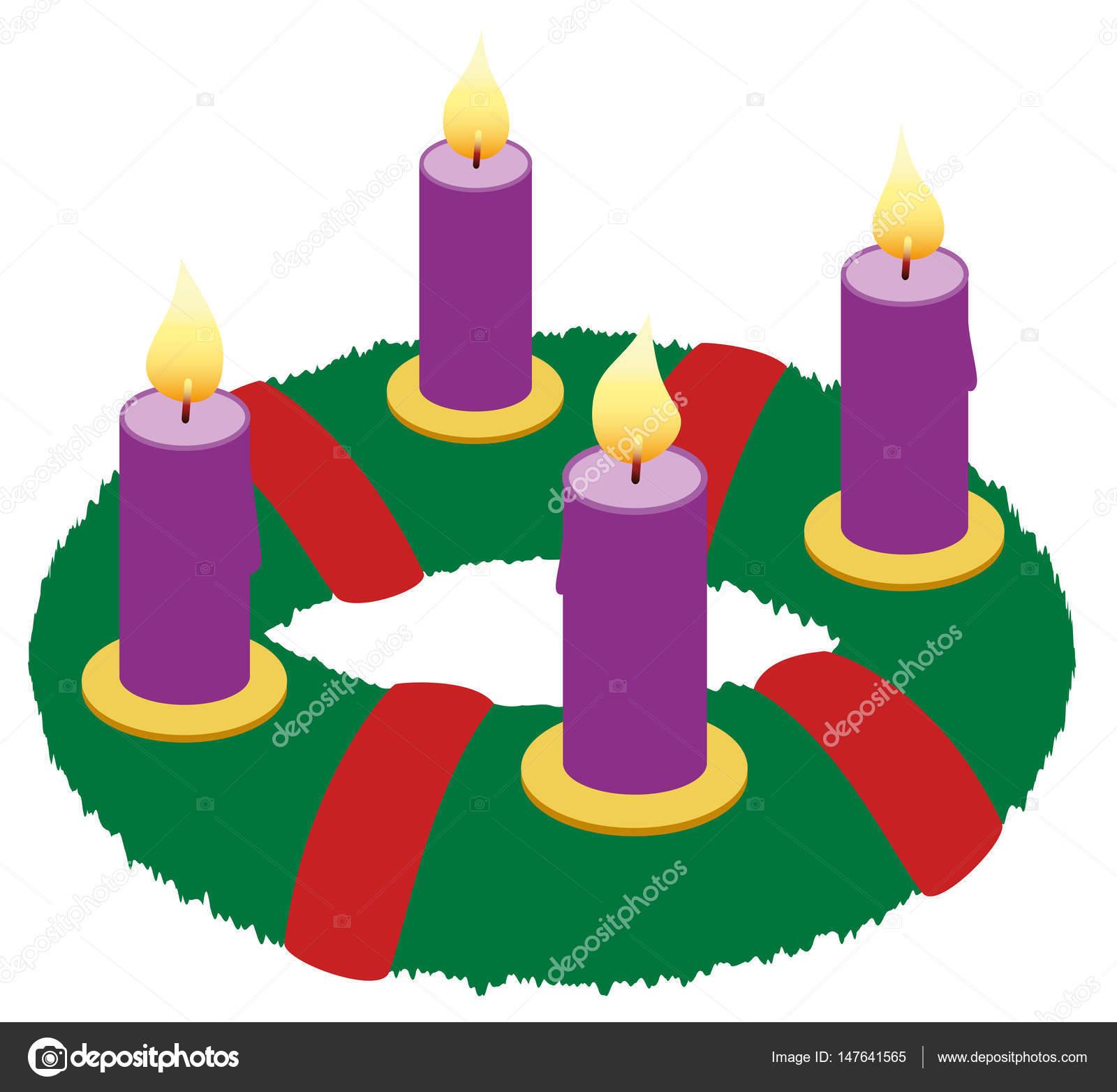 Advent wreath illustration icon symbol stock photo furian advent wreath illustration icon symbol stock photo buycottarizona Image collections