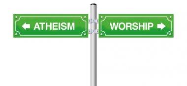 Atheism Worship Religion Guidepost