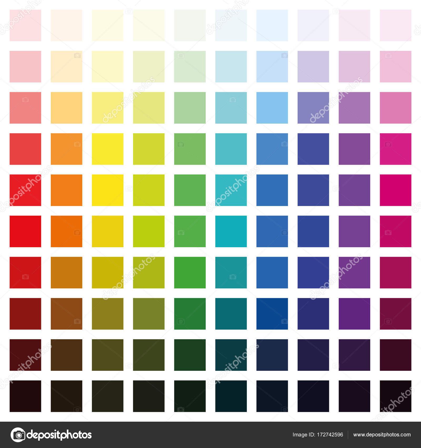 Verschiedene Farben
