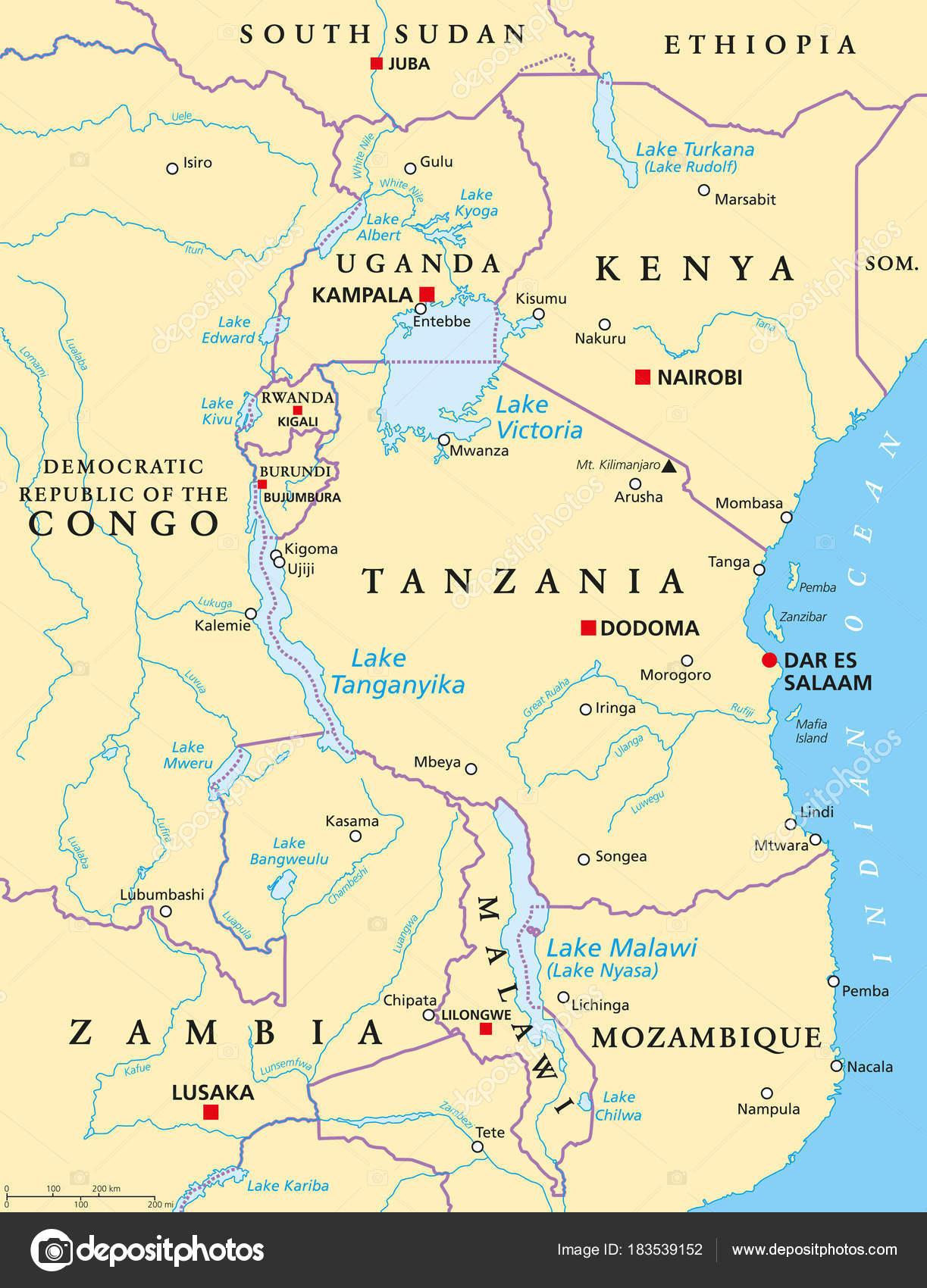 アフリカ大湖沼