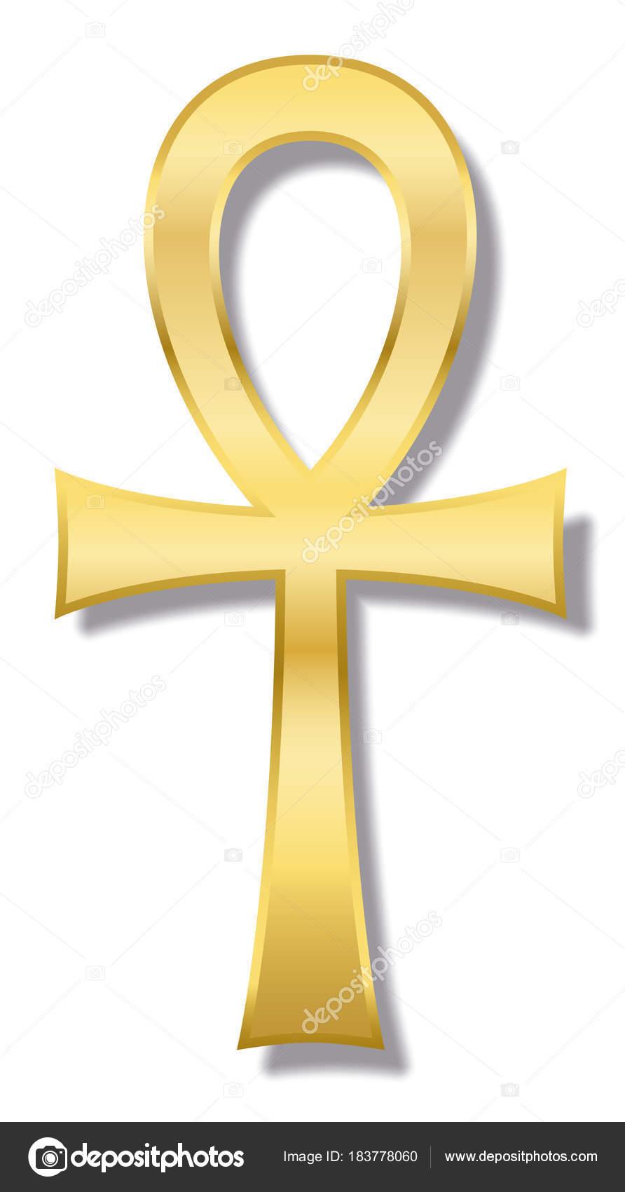 Ankh egyptian hieroglyphic golden symbol stock vector furian ankh egyptian hieroglyphic golden symbol stock vector buycottarizona Image collections
