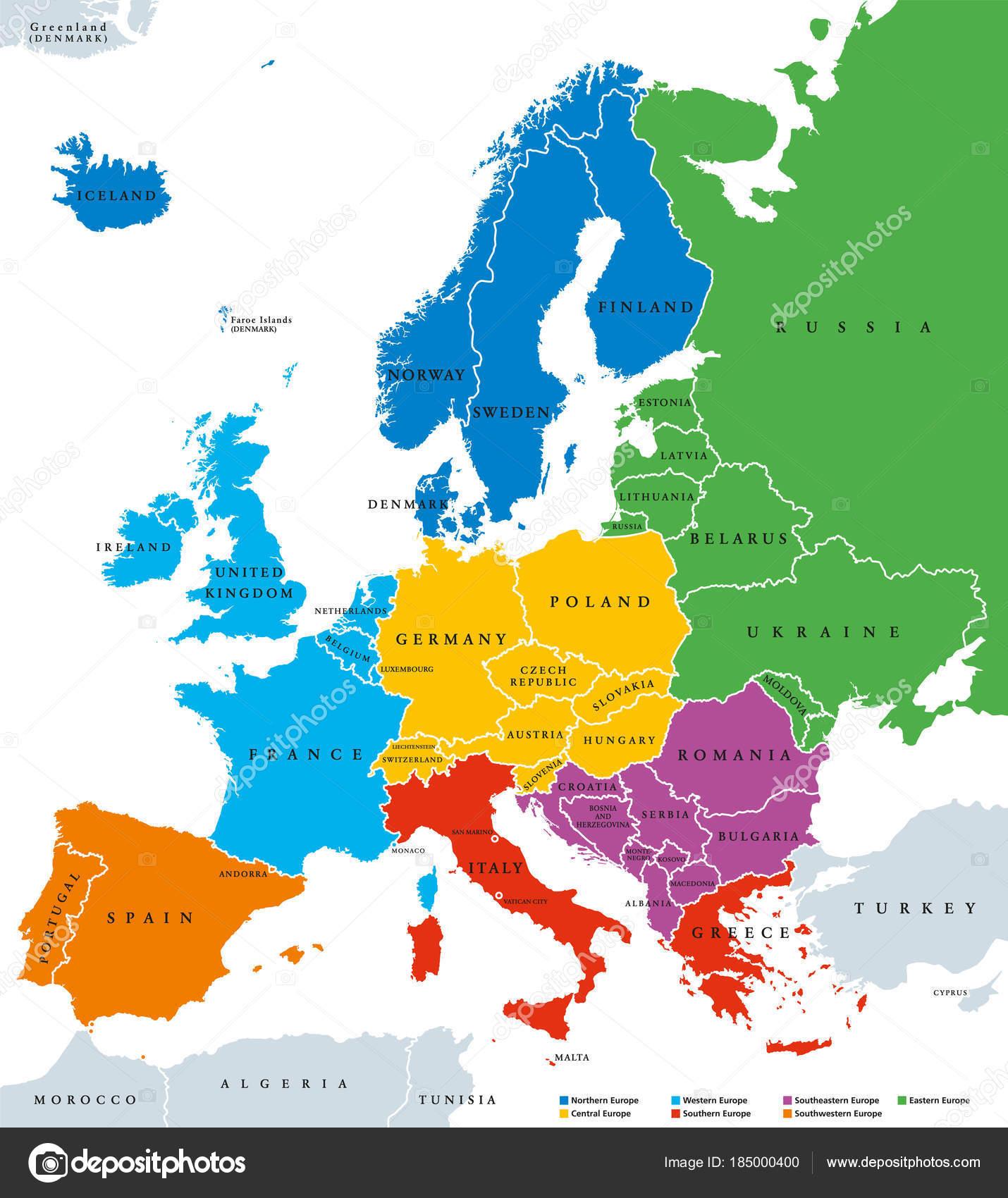 carte europe v
