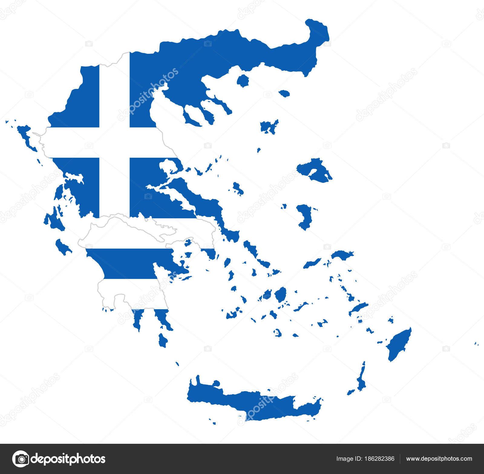 Bandiera Della Struttura Della Grecia Vettoriali Stock Furian