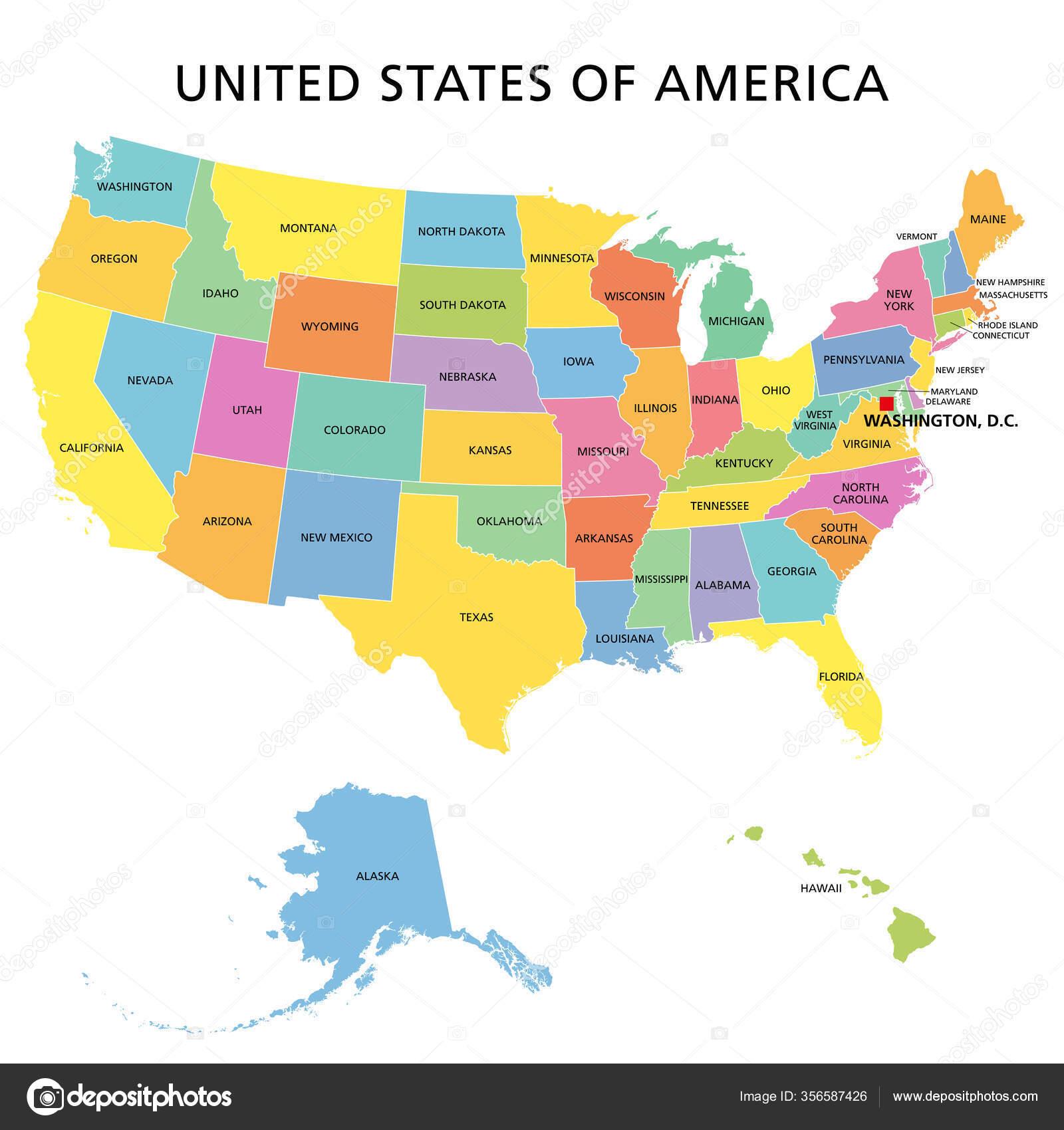Vereinigte Staaten Von Amerika Staaten
