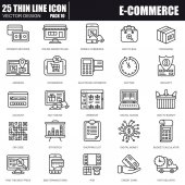 Fotografie Shopping und e-Commerce icons