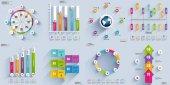 Vizualizace dat prvky infografika