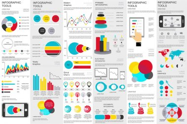 Infographic elements data visualization vector design template. Can be used for steps, options, business processes, workflow, diagram, flowchart concept, timeline, marketing icons, info graphics. clip art vector
