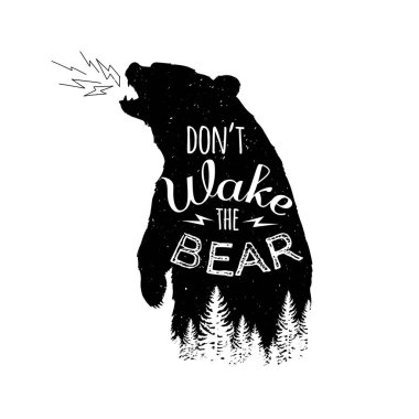 do not wake the bear