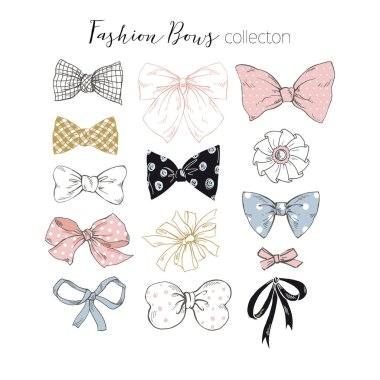 beautiful graphic bows