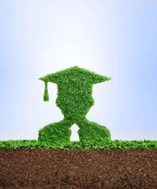 Healthy clean education concept