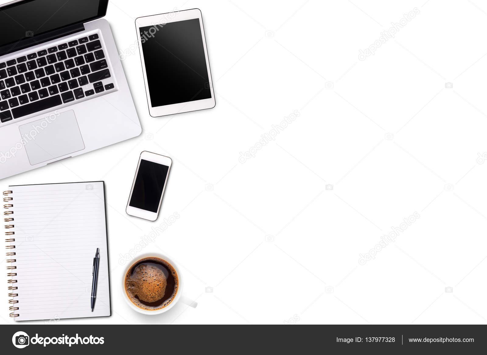 office desk laptop computer notebook mobile. Top View Laptop Computer Or Notebook,mobile Phone And Cup Of Latte Art Coffee \u2014 Office Desk Notebook Mobile C