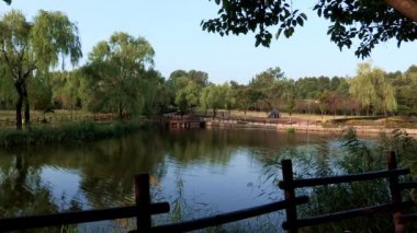 Pond in Youngsan Family Park