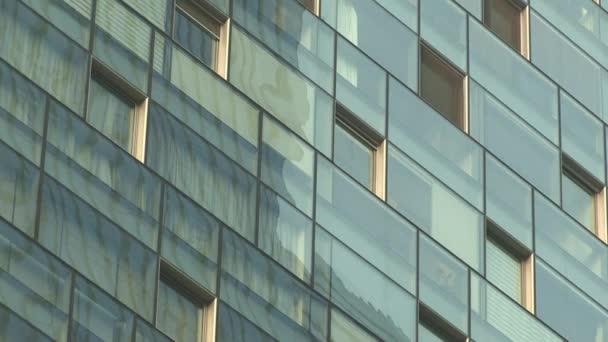 high modern business building