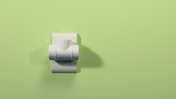fali aljzat kiterjesztés-val három dugók, energetikai koncepció