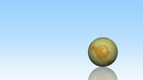 Globální ekonomika koncept pozadí