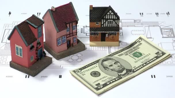 Stack money blueprint economy business concept stock video stack malvernweather Choice Image