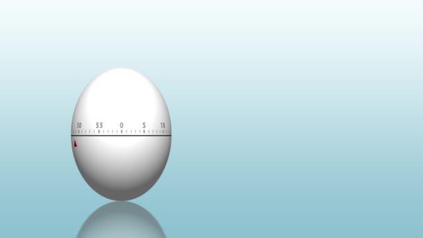 Globální obchodní koncept s strongbox vyrobené z bílých vajec na modré pozadí s přechodem