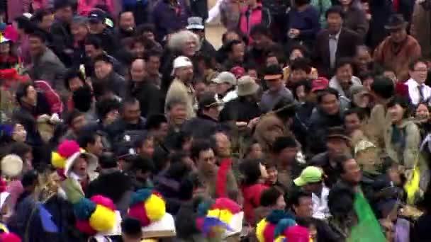 people celebrating Korean Choo-suk holiday