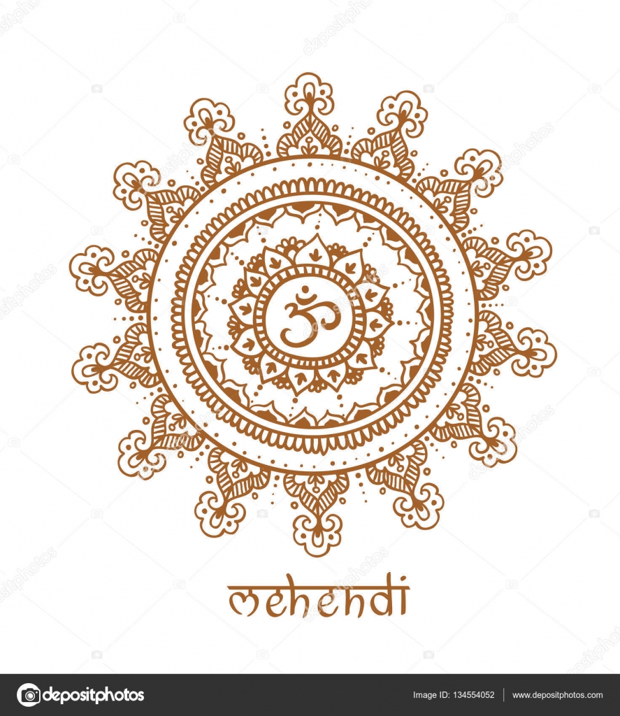 mandala with ethnic doodle pattern — Stock Vector © Utro-na-more ...