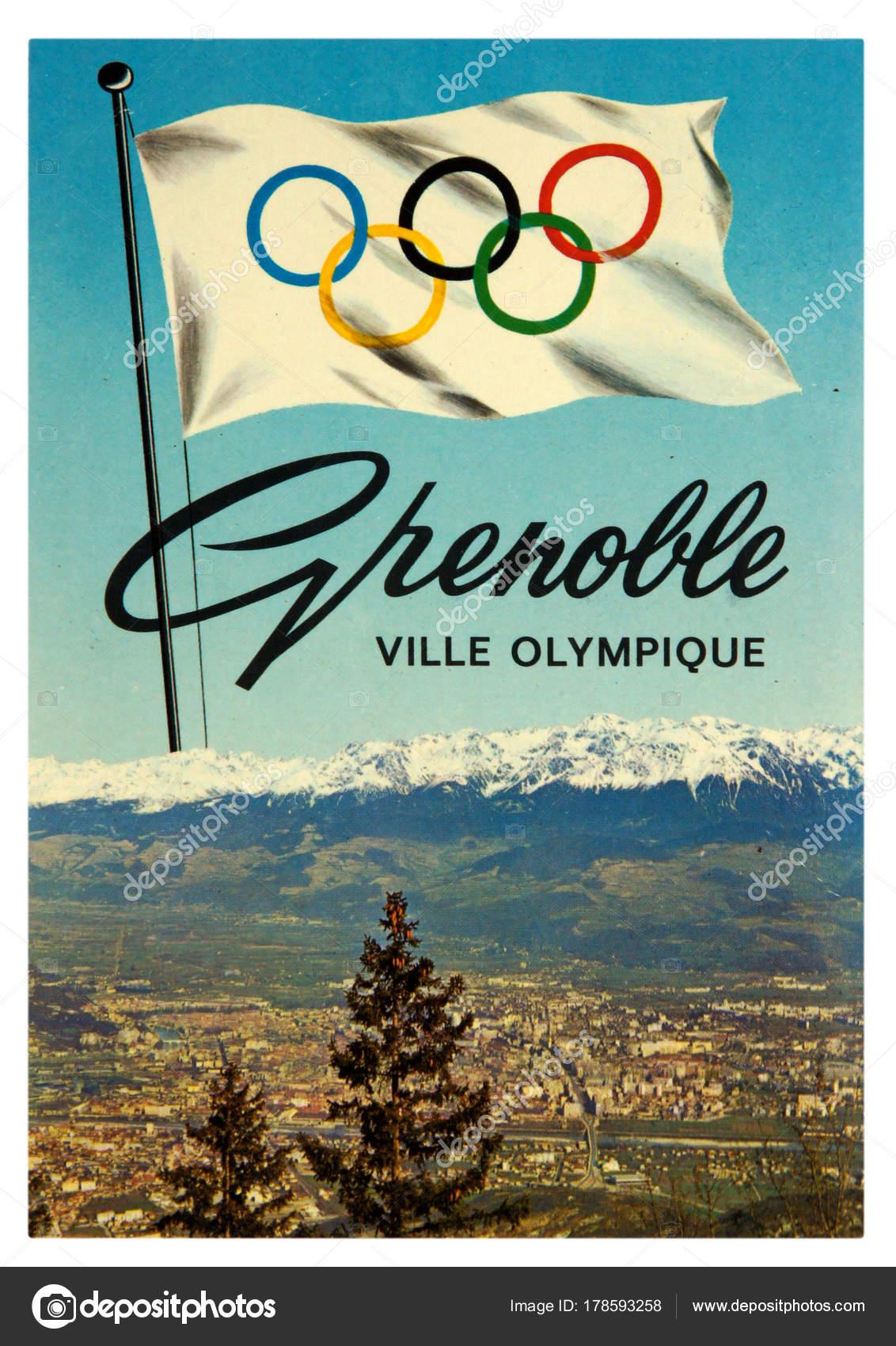 Los Juegos Olimpicos De Invierno 1968 Foto Editorial De Stock