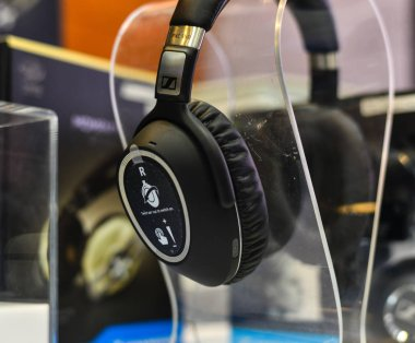 Headphones for display at the store