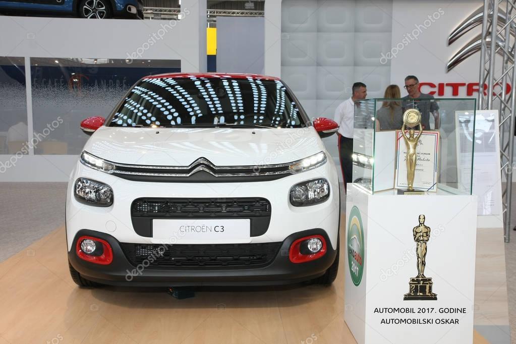 Citroen at Belgrade Car Show