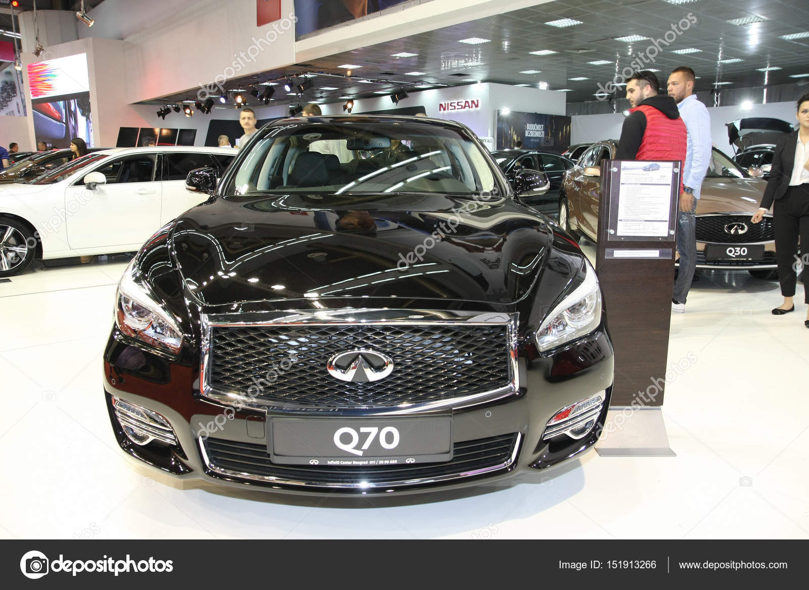 Infiniti At Belgrade Car Show Stock Editorial Photo Tdjoric - Infiniti car show