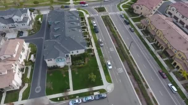 A légi felvétel a környéken nagy tervezett közösségi panoráma