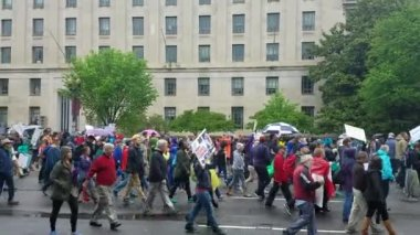 WASHINGTON DC - APRIL 22, 2017 March for Science