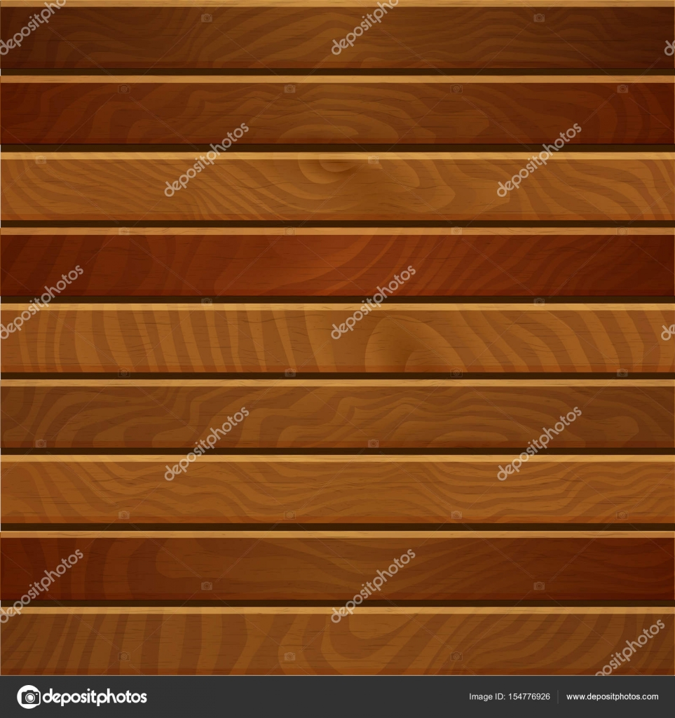 Cartoon Square Vector Background With Wooden Boards Backdrop Of Wood Planks By PictuLandra