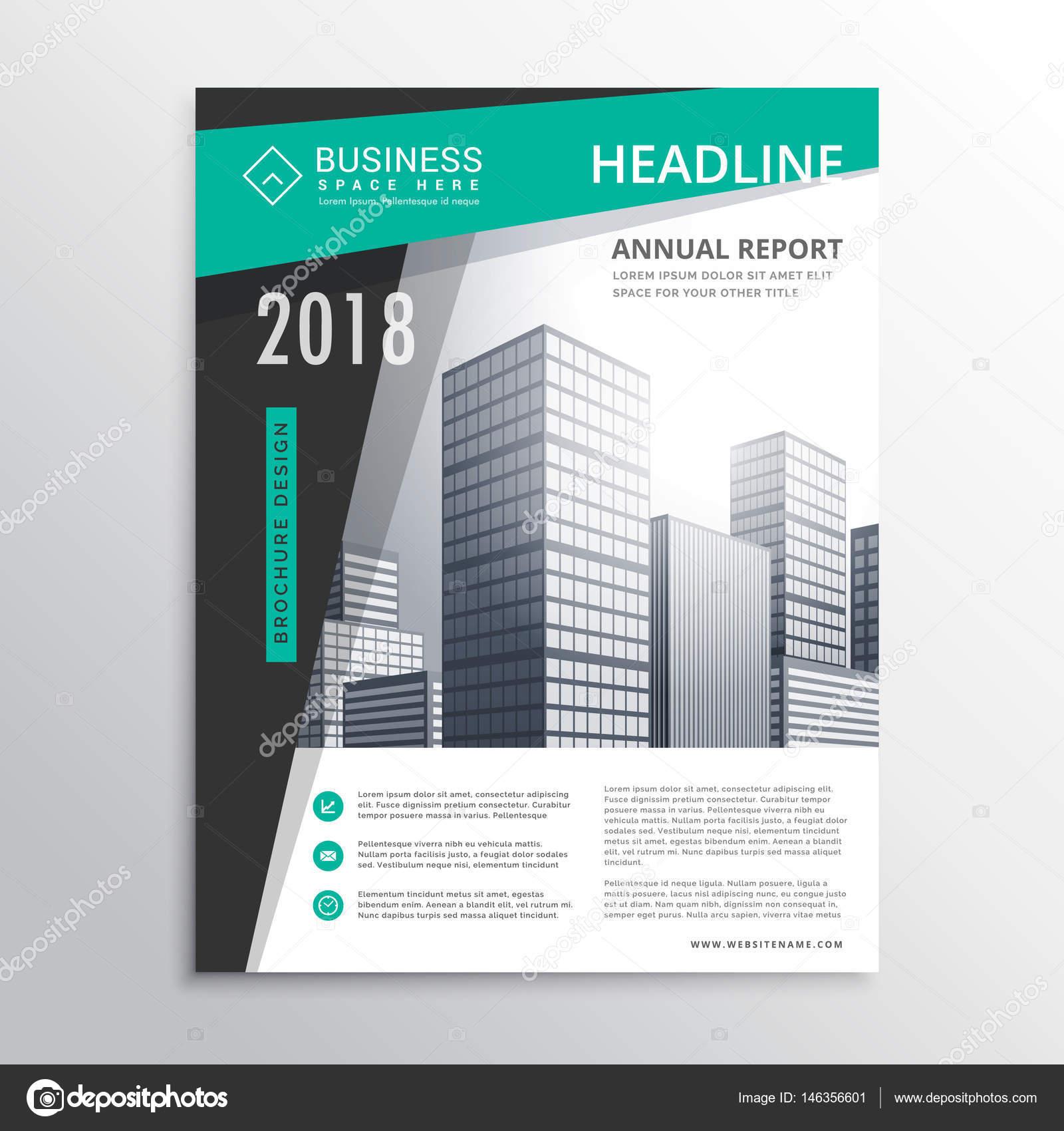 Awesome business brochure flyer design template design