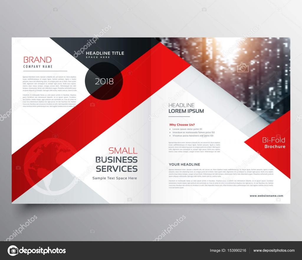 modernes Business Bifold Broschüre Design Vorlage oder Magazin-Seite ...