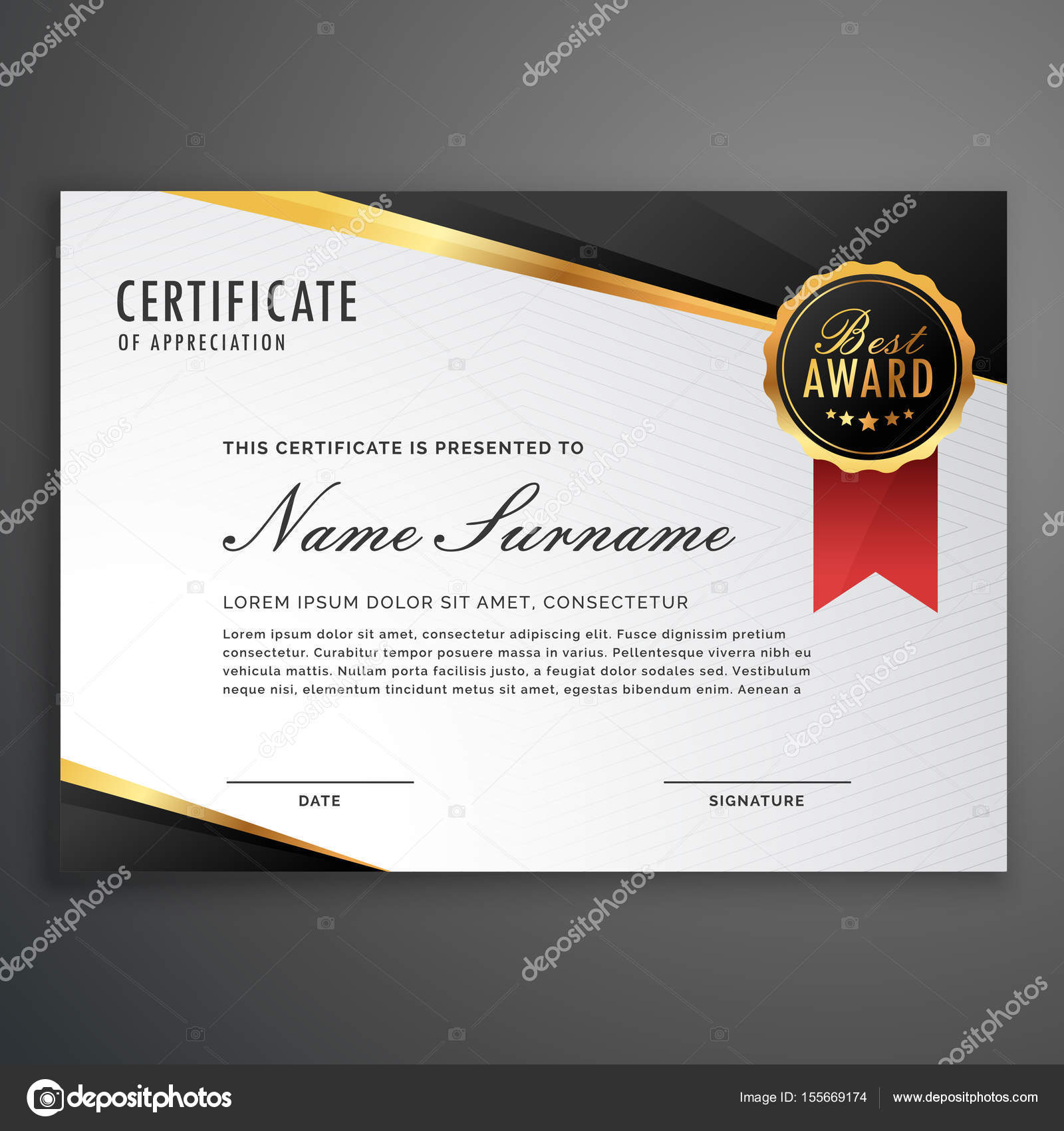 Luxurious certificate design vector template stock vector luxurious certificate design vector template stock vector yadclub Choice Image