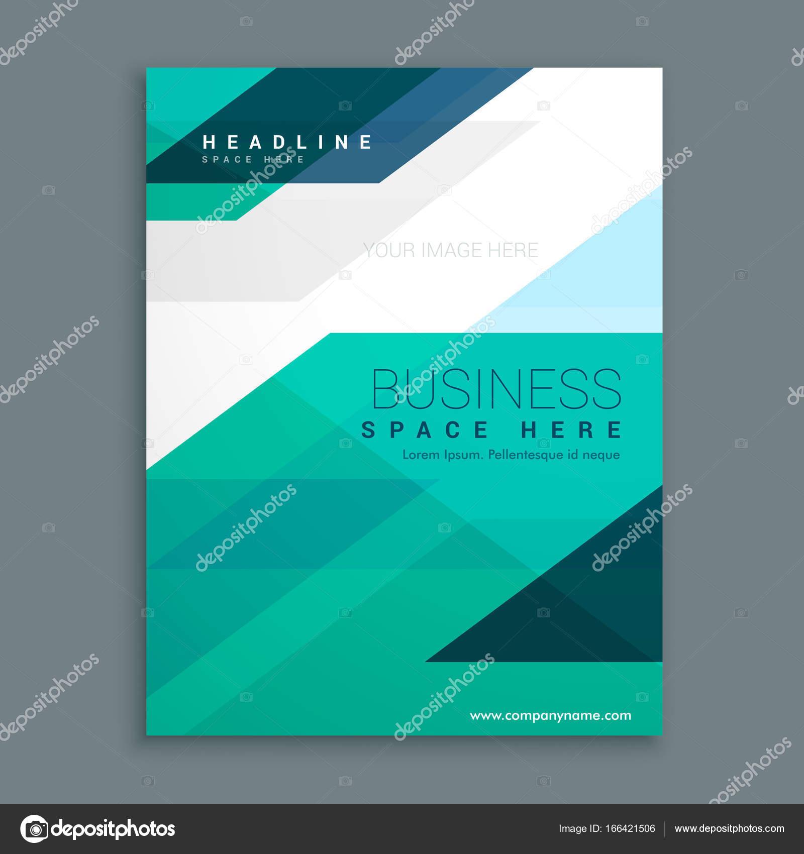 Company Magazine Cover Page Brochure Design Stock Vector C Starline 166421506