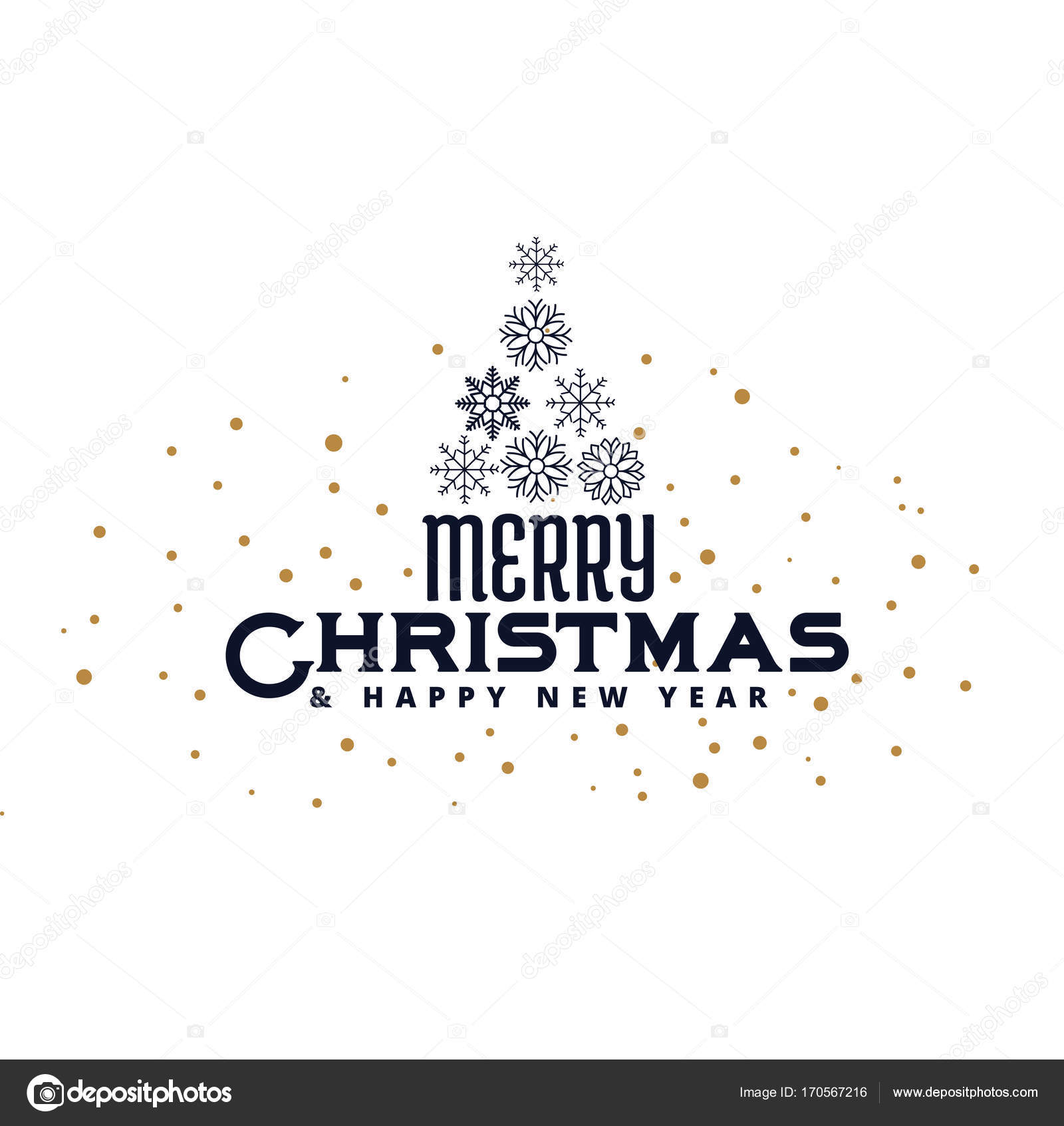 Christmas Greeting Card Design Background Stock Vector Starline