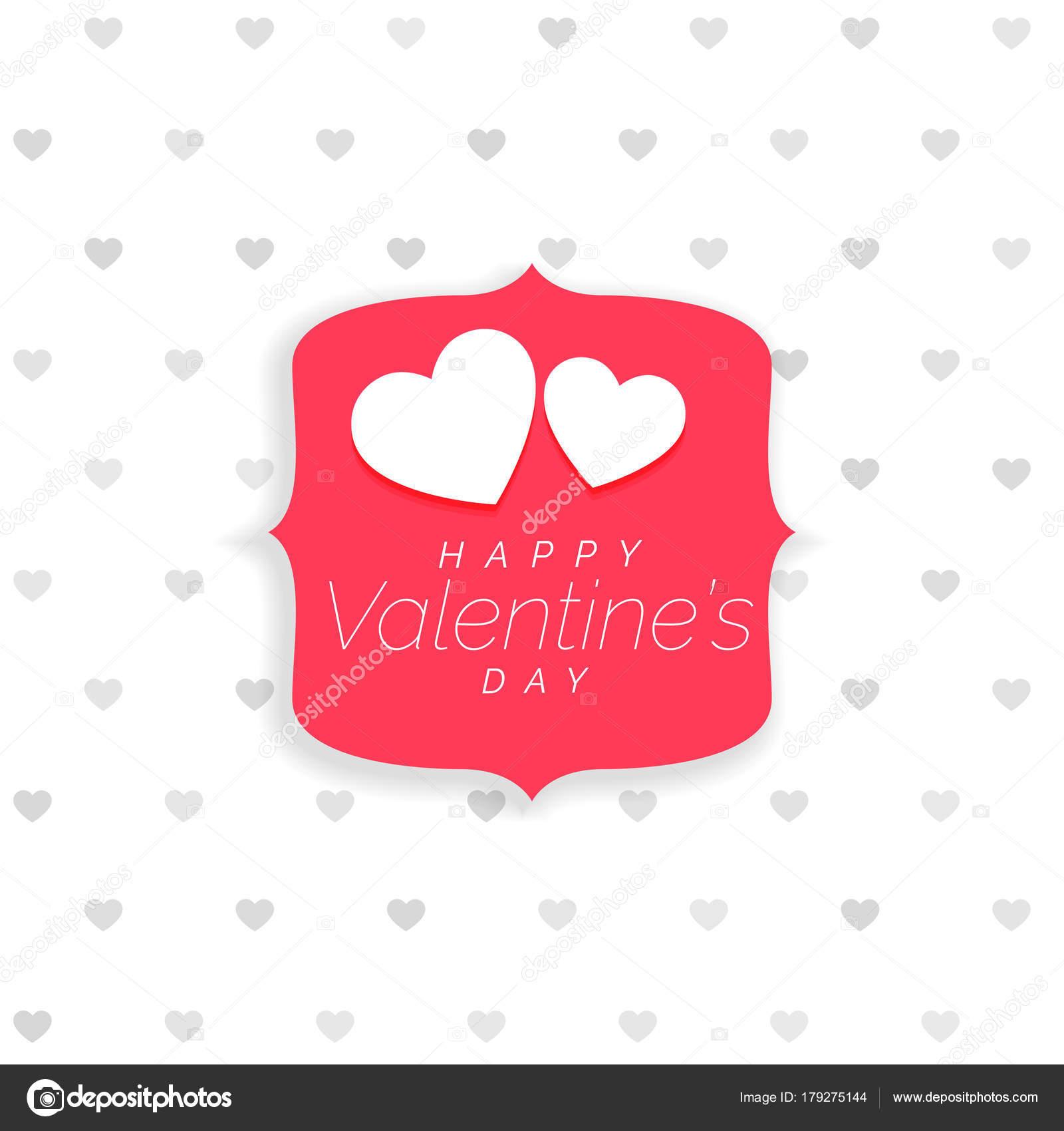 Niedlich Valentinstag Geschenk Tag Vorlage Zeitgenössisch - Beispiel ...