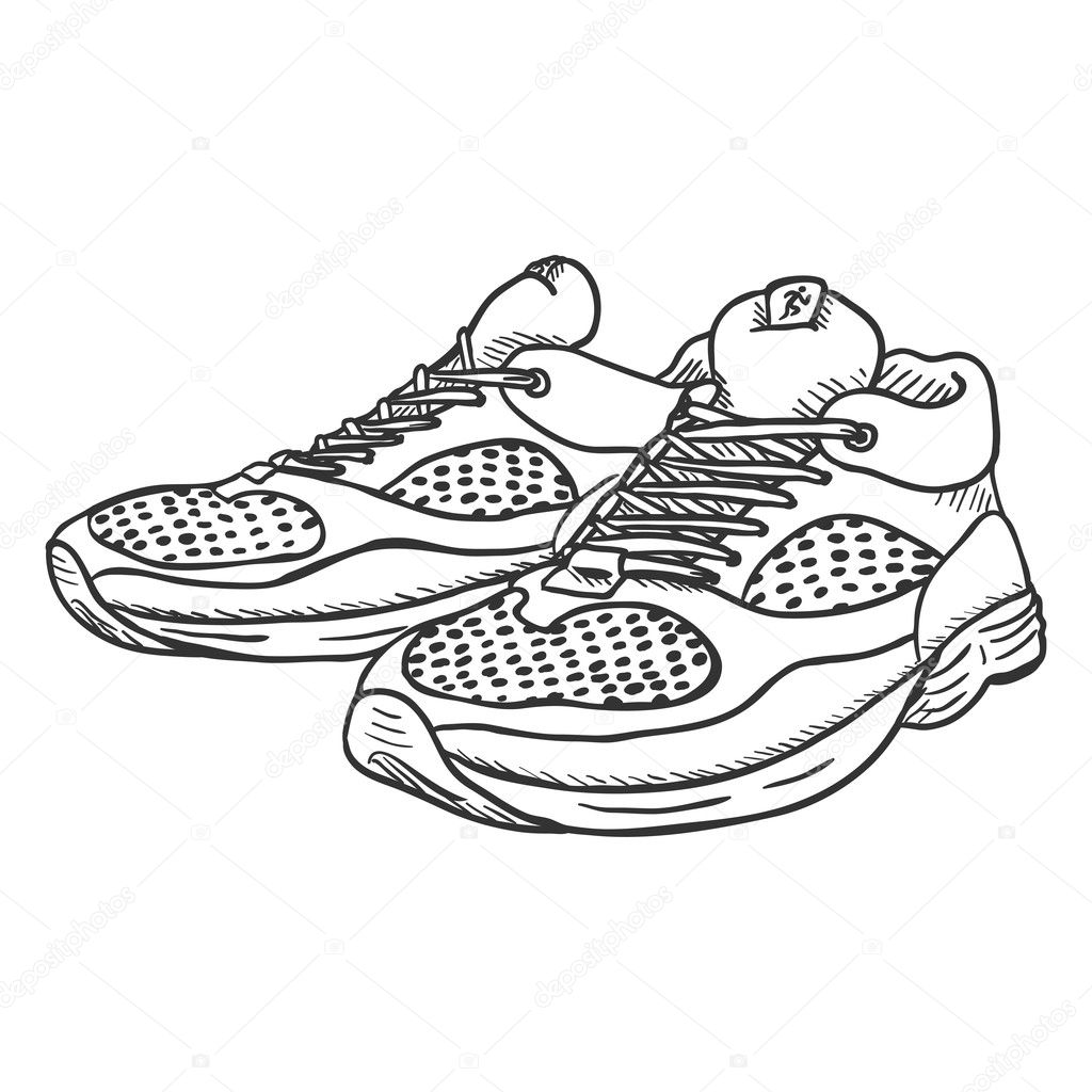 How To Draw High Top Shoes