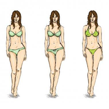 Female Models sketch