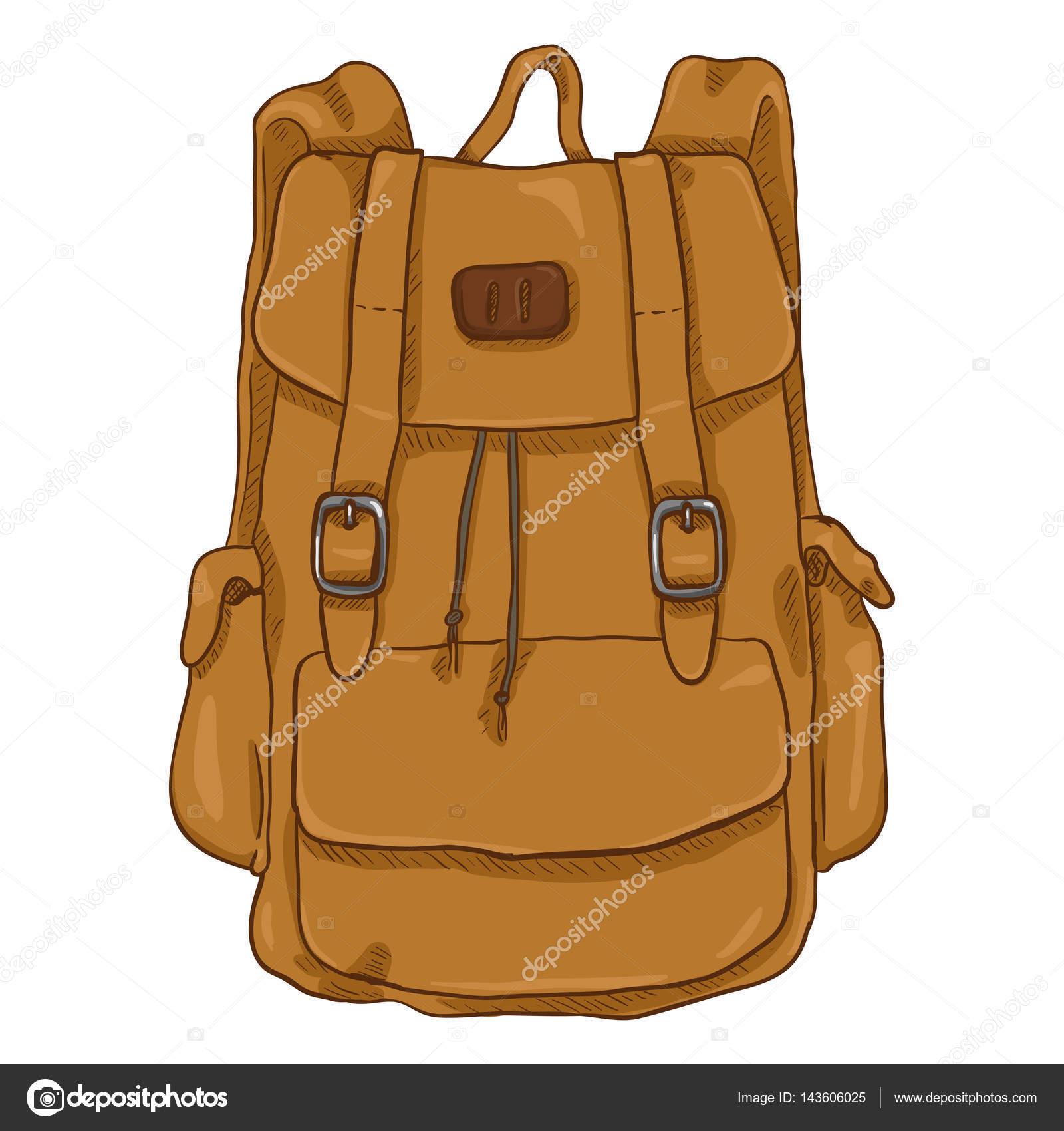 8478dd2977 Kreslený styl Casual batoh — Stock Vektor © nikiteev  143606025