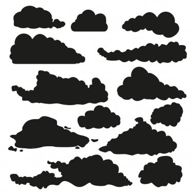 black clouds icon