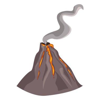 doodle  erupting Volcano