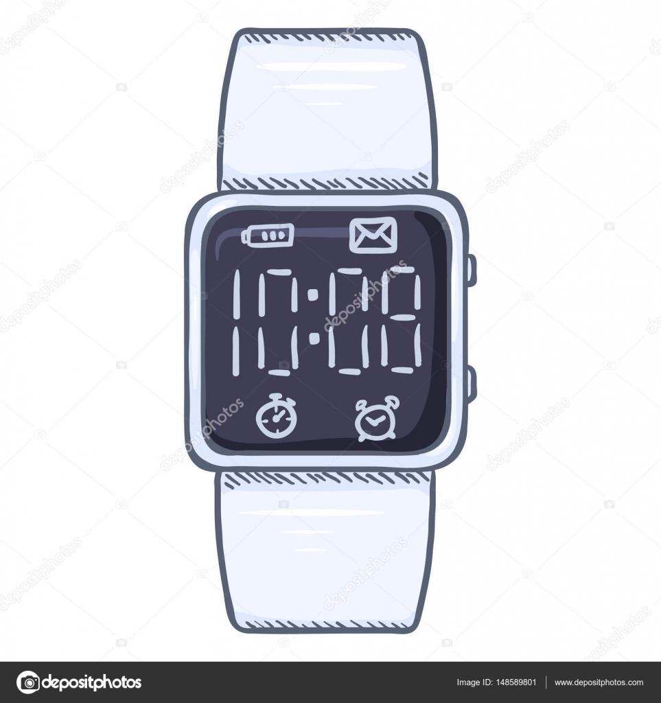 información para 53141 f1074 Moderno reloj de pulsera digital de dibujos animados ...