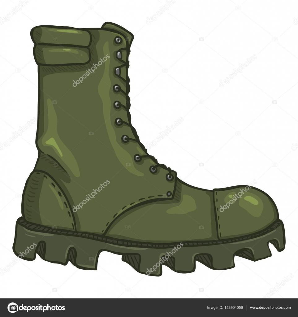 Vector Cartoon Army Boots. High Military Shoes U2014 Stock Vector U00a9 Nikiteev #153904056