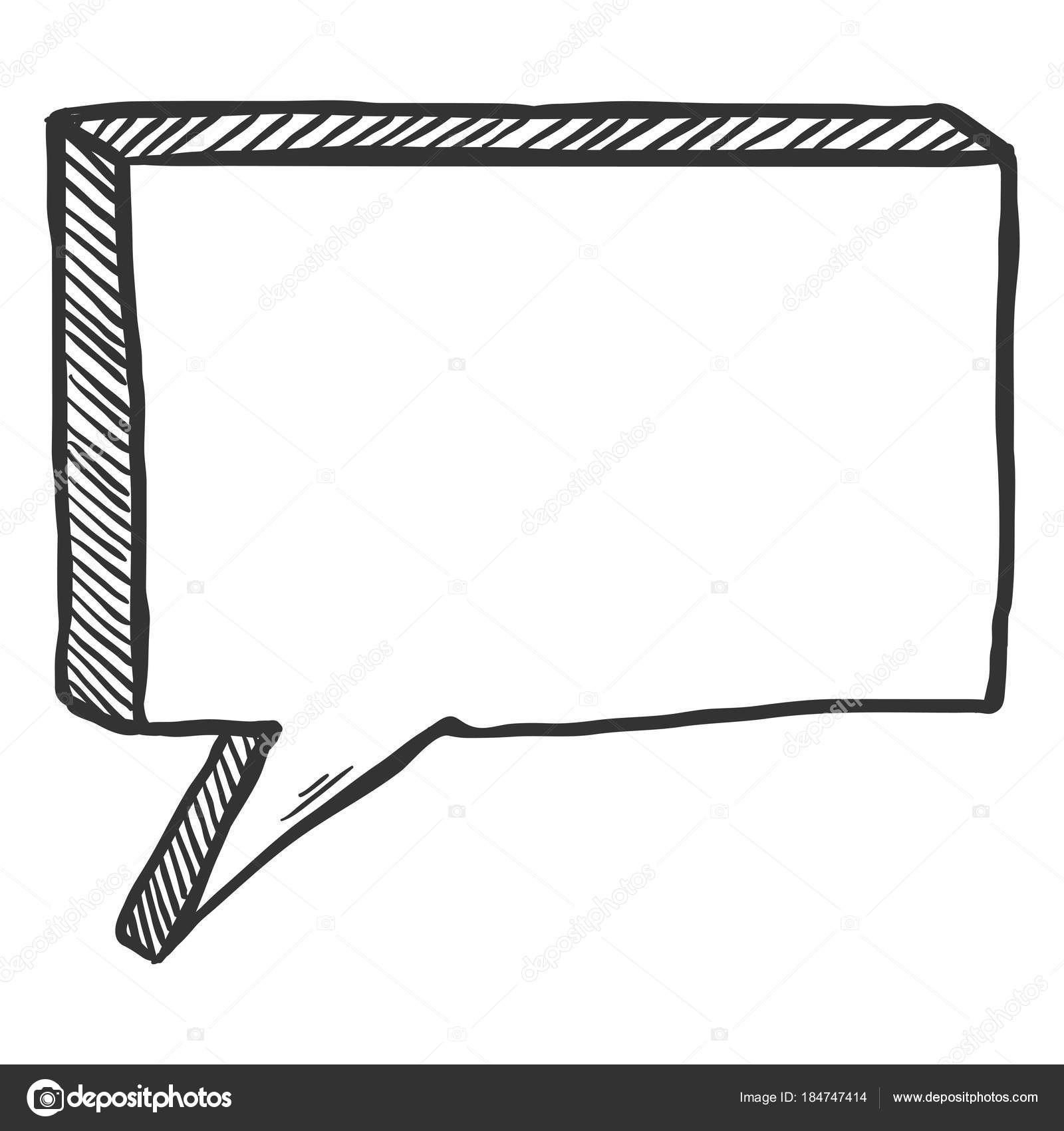 rectangle speech bubbles comic book